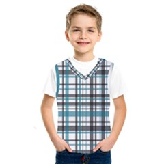 Plaid Pattern Kids  Sportswear