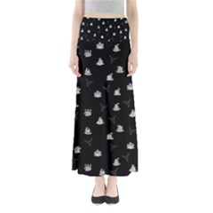 Cactus Pattern Maxi Skirts by Valentinaart
