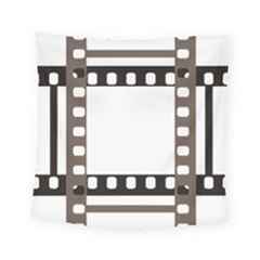 Frame Decorative Movie Cinema Square Tapestry (small)