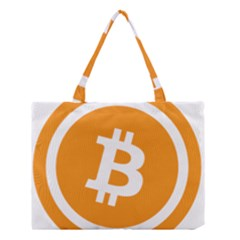 Bitcoin Cryptocurrency Currency Medium Tote Bag by Nexatart