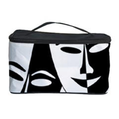 Theatermasken Masks Theater Happy Cosmetic Storage Case