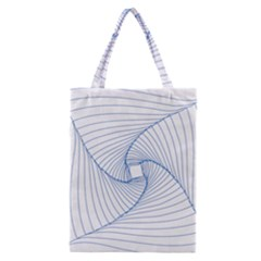 Spirograph Pattern Drawing Design Classic Tote Bag by Nexatart