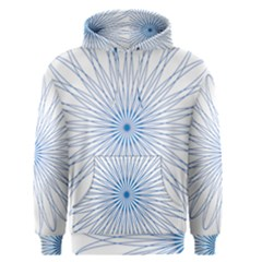 Spirograph Pattern Circle Design Men s Pullover Hoodie