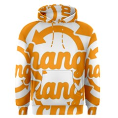 Think Switch Arrows Rethinking Men s Pullover Hoodie by Nexatart