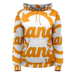 Think Switch Arrows Rethinking Women s Pullover Hoodie by Nexatart