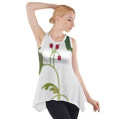 Element Tag Green Nature Side Drop Tank Tunic