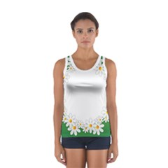 Photo Frame Love Holiday Women s Sport Tank Top  by Nexatart