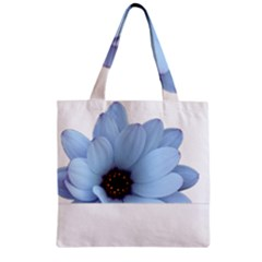 Daisy Flower Floral Plant Summer Zipper Grocery Tote Bag