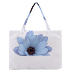 Daisy Flower Floral Plant Summer Medium Zipper Tote Bag by Nexatart