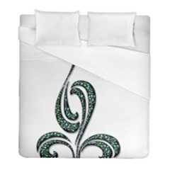 Scroll Retro Design Texture Duvet Cover (full/ Double Size)