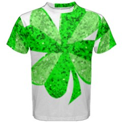 St Patricks Day Shamrock Green Men s Cotton Tee