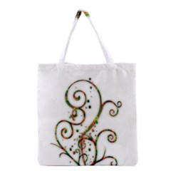 Scroll Magic Fantasy Design Grocery Tote Bag