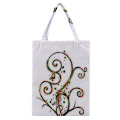 Scroll Magic Fantasy Design Classic Tote Bag by Nexatart