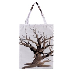 Tree Isolated Dead Plant Weathered Classic Tote Bag by Nexatart