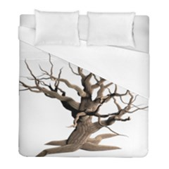 Tree Isolated Dead Plant Weathered Duvet Cover (full/ Double Size) by Nexatart