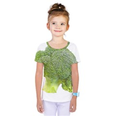 Broccoli Bunch Floret Fresh Food Kids  One Piece Tee by Nexatart
