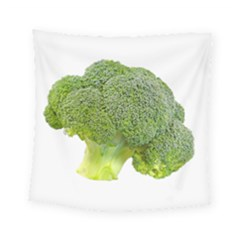 Broccoli Bunch Floret Fresh Food Square Tapestry (small) by Nexatart