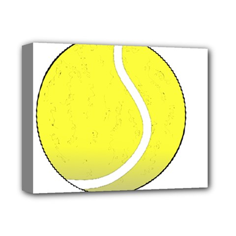 Tennis Ball Ball Sport Fitness Deluxe Canvas 14  X 11  by Nexatart