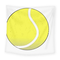 Tennis Ball Ball Sport Fitness Square Tapestry (large) by Nexatart