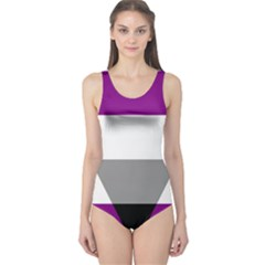 Aegosexual Autochorissexual Flag One Piece Swimsuit by Mariart