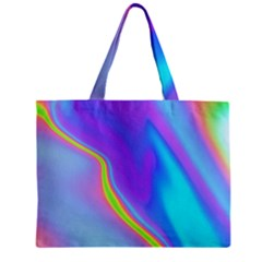 Aurora Color Rainbow Space Blue Sky Purple Yellow Mini Tote Bag by Mariart
