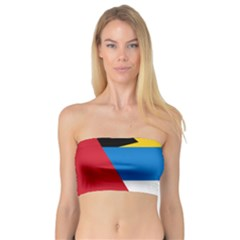 Banner Flag Sun Line Chevron Red White Black Blue Bandeau Top by Mariart