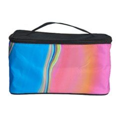 Aurora Color Rainbow Space Blue Sky Purple Yellow Green Pink Cosmetic Storage Case by Mariart