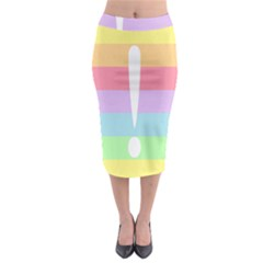 Condigender Flags Midi Pencil Skirt by Mariart
