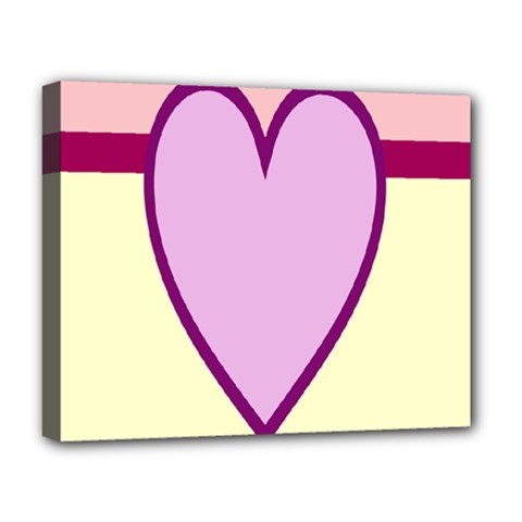 Cute Gender Gendercute Flags Love Heart Line Valentine Deluxe Canvas 20  X 16   by Mariart