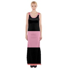 Domgirl Playgirl Maxi Thigh Split Dress