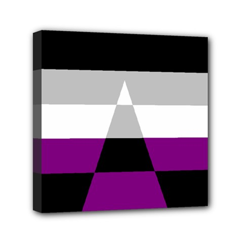 Dissexual Flag Mini Canvas 6  X 6  by Mariart