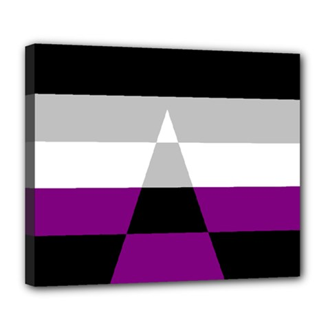 Dissexual Flag Deluxe Canvas 24  X 20   by Mariart