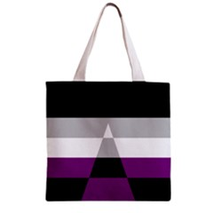 Dissexual Flag Zipper Grocery Tote Bag by Mariart