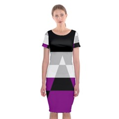 Dissexual Flag Classic Short Sleeve Midi Dress by Mariart