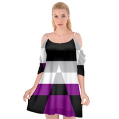 Dissexual Flag Cutout Spaghetti Strap Chiffon Dress by Mariart