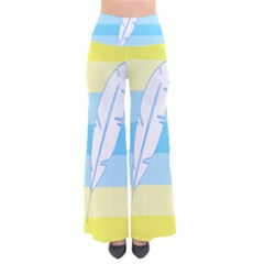 Feather Flags Pants by Mariart