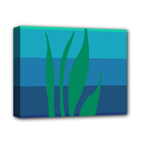 Gender Sea Flags Leaf Deluxe Canvas 14  X 11  by Mariart