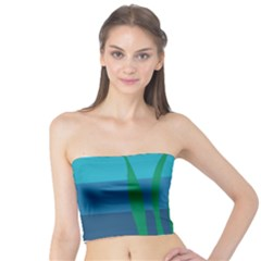 Gender Sea Flags Leaf Tube Top by Mariart