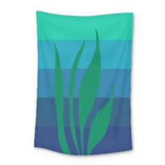 Gender Sea Flags Leaf Small Tapestry by Mariart