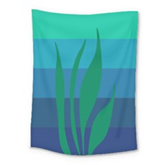 Gender Sea Flags Leaf Medium Tapestry by Mariart