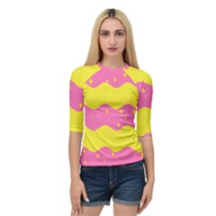 Glimra Gender Flags Star Space Quarter Sleeve Tee