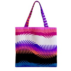 Mutare Mutaregender Flags Zipper Grocery Tote Bag by Mariart