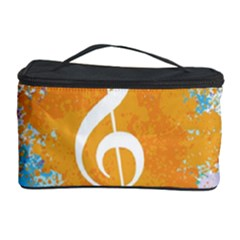 Musical Notes Cosmetic Storage Case