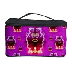 A Cartoon Named Okey Want Friends And Freedom Cosmetic Storage Case