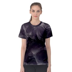 Map Curves Dark Women s Sport Mesh Tee by Mariart
