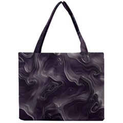 Map Curves Dark Mini Tote Bag by Mariart