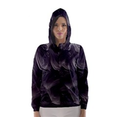 Map Curves Dark Hooded Wind Breaker (women) by Mariart