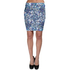 Modern Nouveau Pattern Bodycon Skirt by dflcprintsclothing
