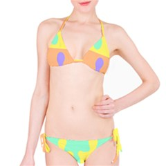 Puzzle Gender Bikini Set by Mariart