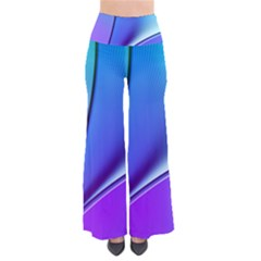 Line Blue Light Space Purple Pants by Mariart